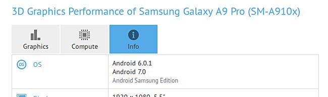Galaxy A9 Pro