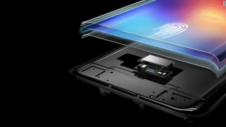 on-screen fingerprint