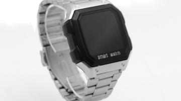 έξυπνο ρολόι που υποστηρίζει αφαιρούμενα μεταλλικούς ιμάντες