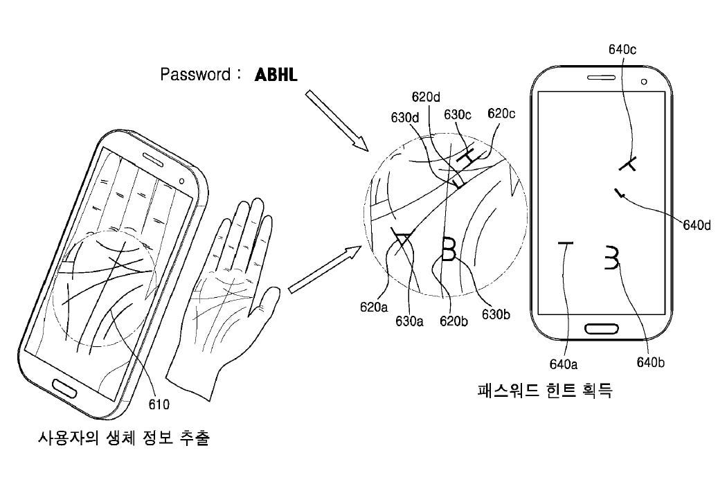 Samsung Envisions Phone Could Read Your Palms