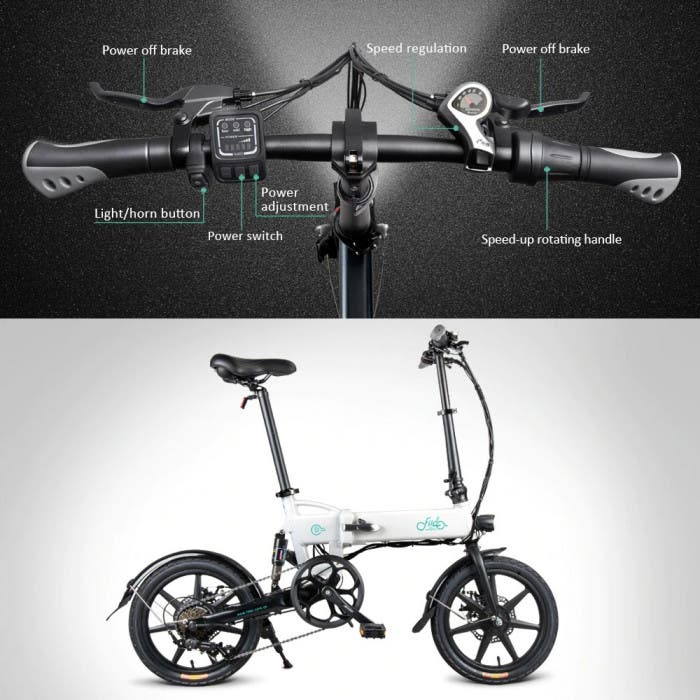 FIIDO D2 Folding Electric Bike