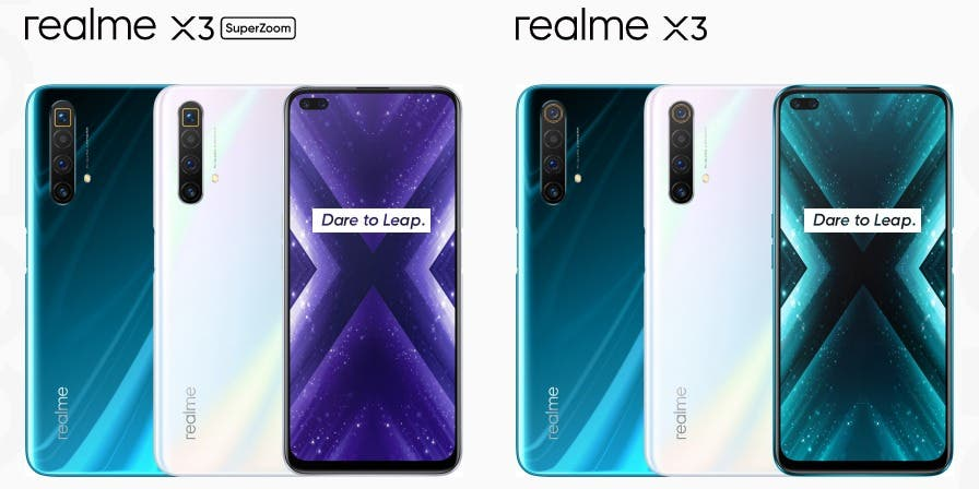 Realme X3, X3 SuperZoom official launch