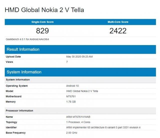 Nokia 2V Tella