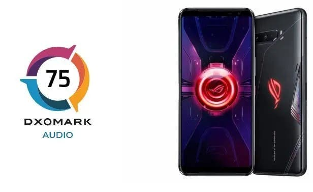 Asus ROG Phone 3 DxOMark Audio