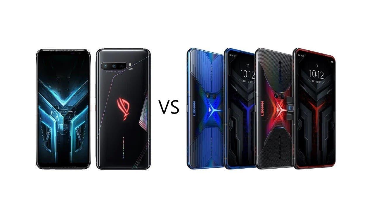 Asus ROG Phone 3 vs Lenovo Legion Duel
