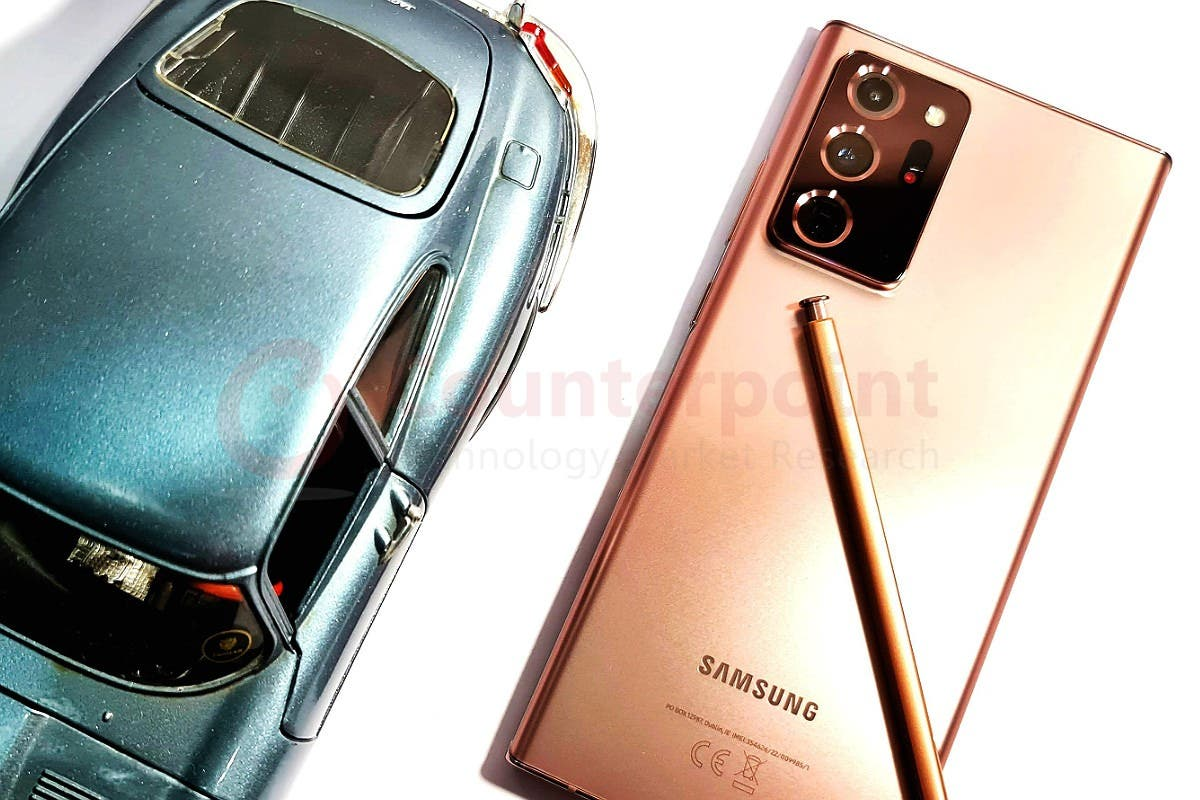 Samsung Galaxy Note20 Ultra Counterpoint