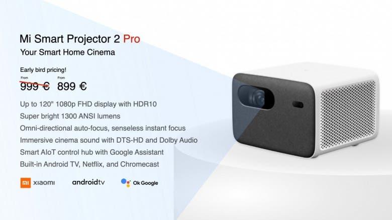 Xiaomi Smart Projector 2 Pro