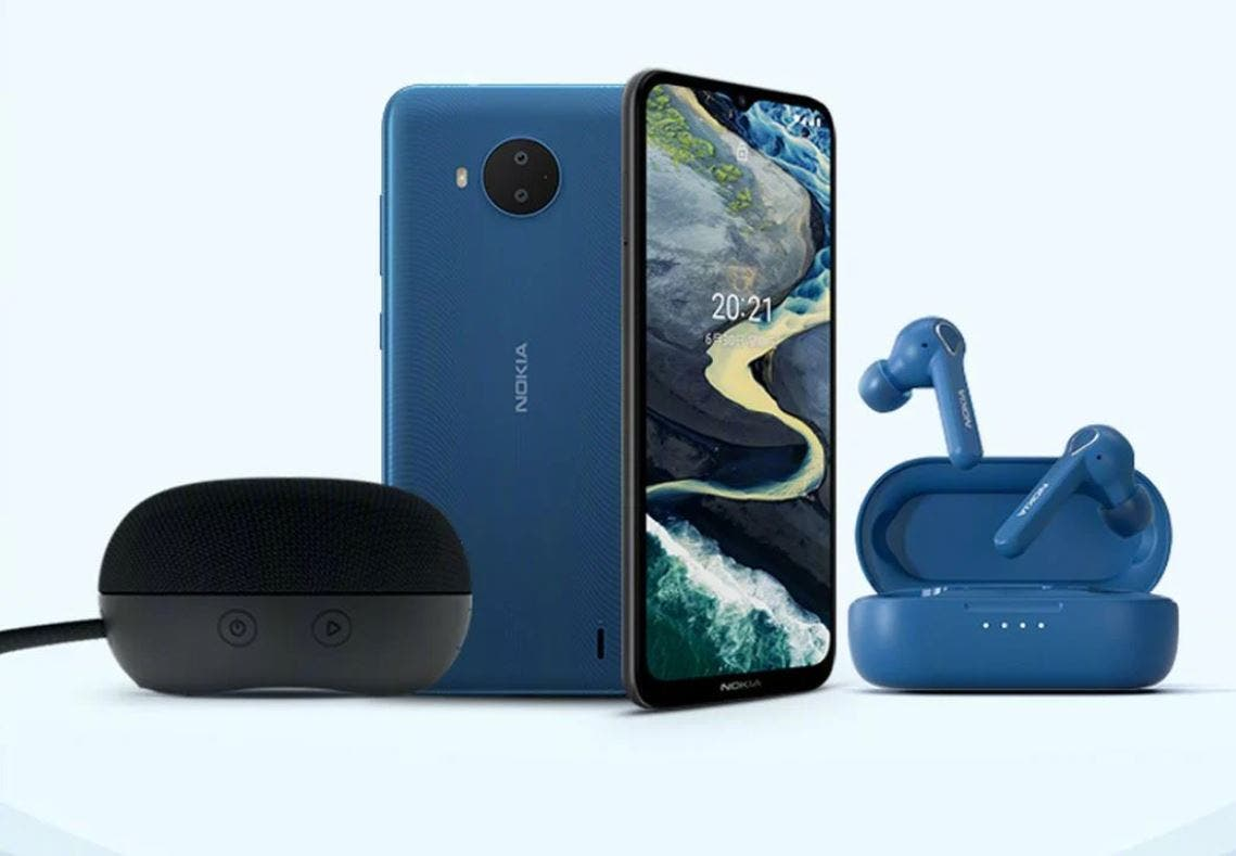 Nokia C20 Plus: ανακοινώθηκε μαζί με ακουστικά και ηχείο Bluetooth