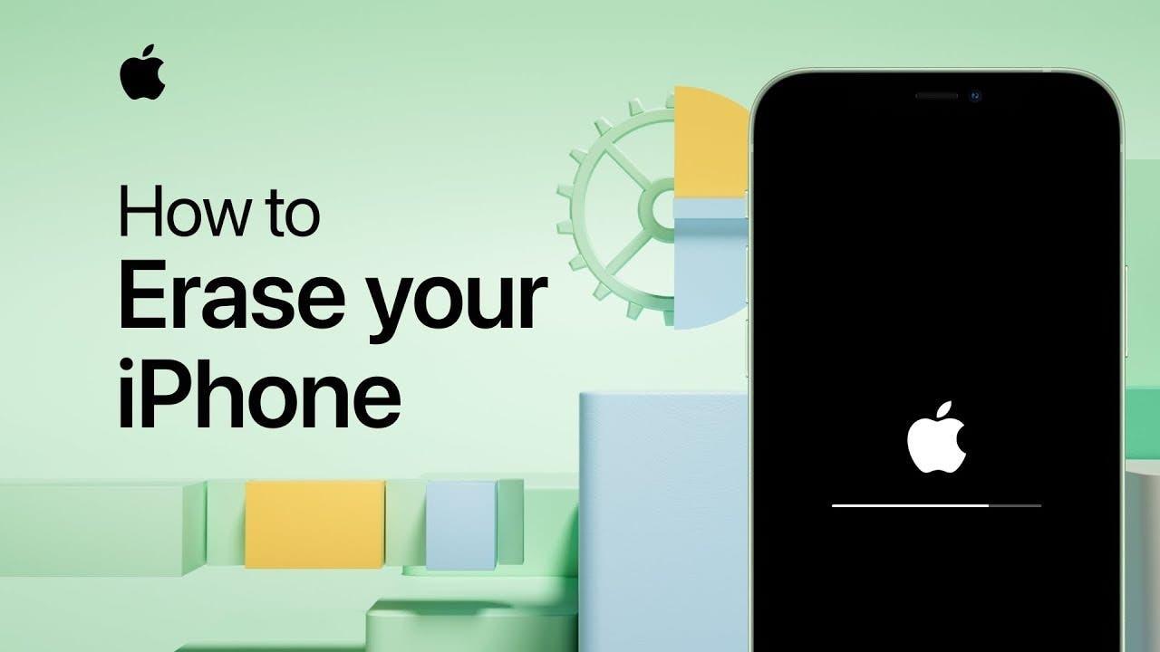 διαγραφή iphone